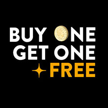 Buy One Get One Free logo