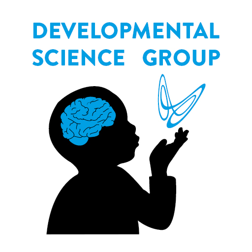 Developmental Science Group logo, with child silhouette