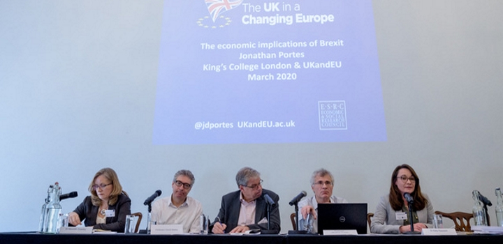 UK in a changing Europe panel