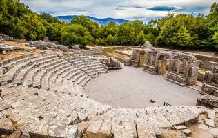 Ampitheatre at Butrint