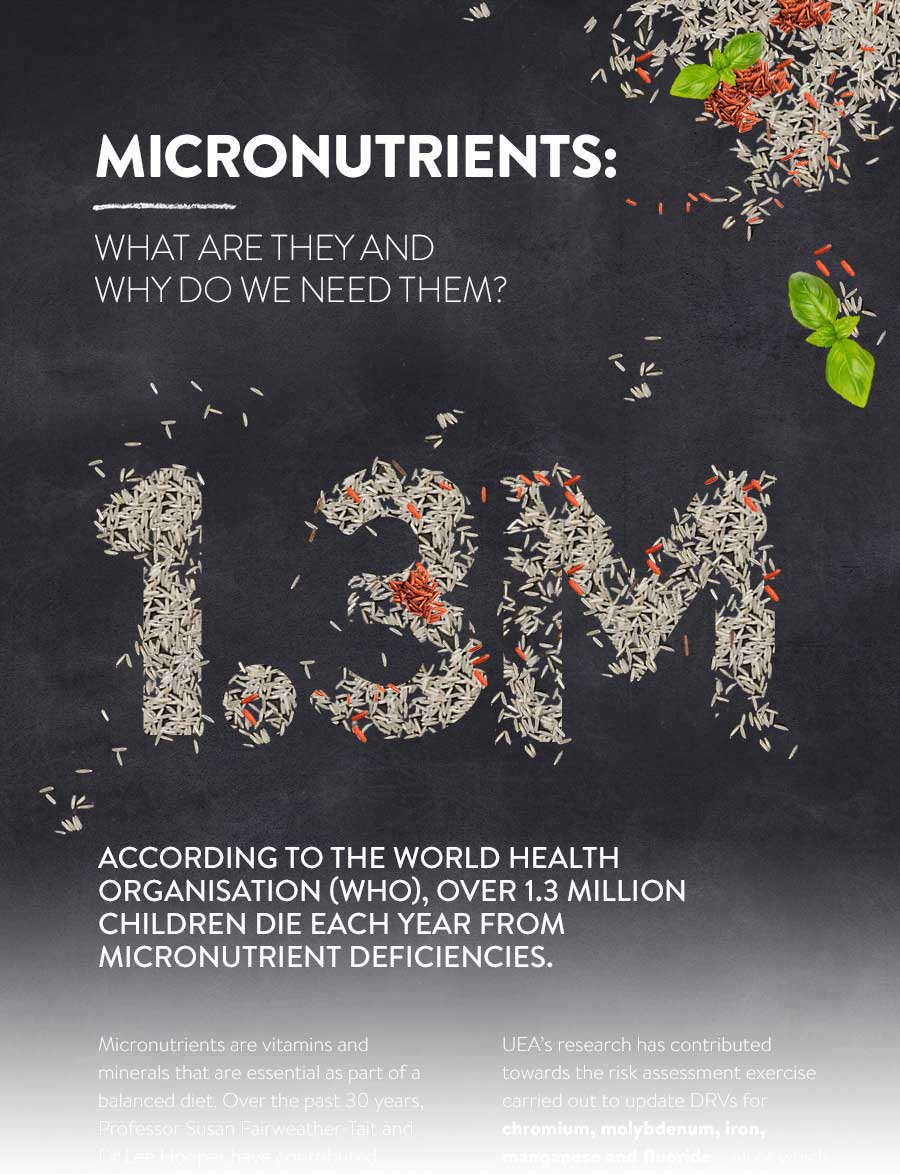 Micronutrients - what are they and why are they needed Infographic