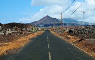 ascension island road
