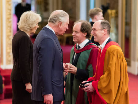 Award Received from Prince Charles
