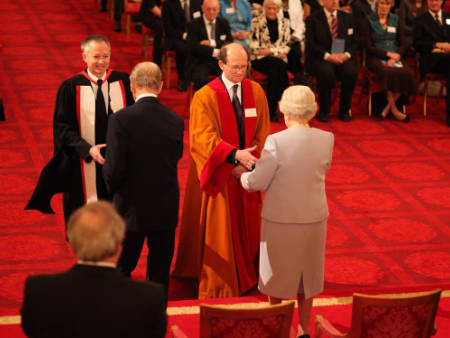 UEA Receive Queens Award
