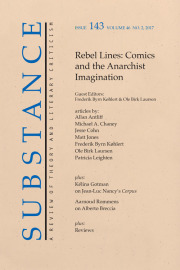 Rebel Lines: Comics and the Anarchist Imagination, edited by Frederik Byrn Køhlert and Ole Birk Laursen
