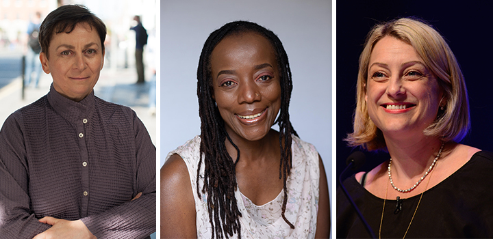 Anne Enright, Tsitsi Dangarembga and Christie Watson