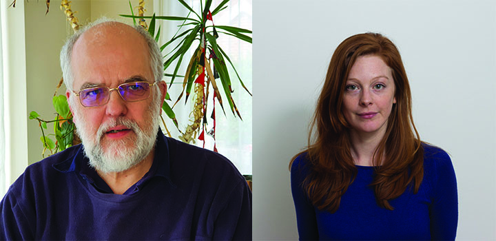 Photos of Professor Paul Hunter and Dr Kirstin Smith