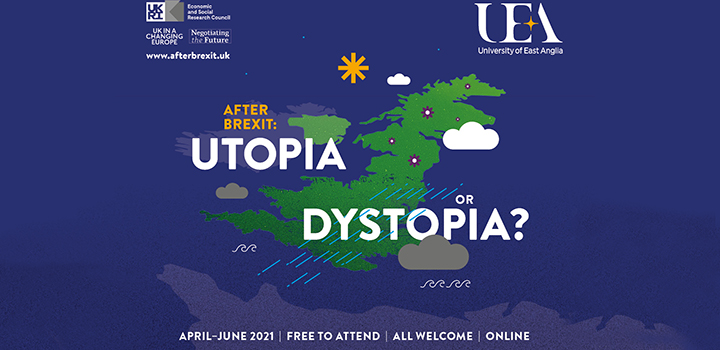 After Brexit: Utopia or Dystopia branding