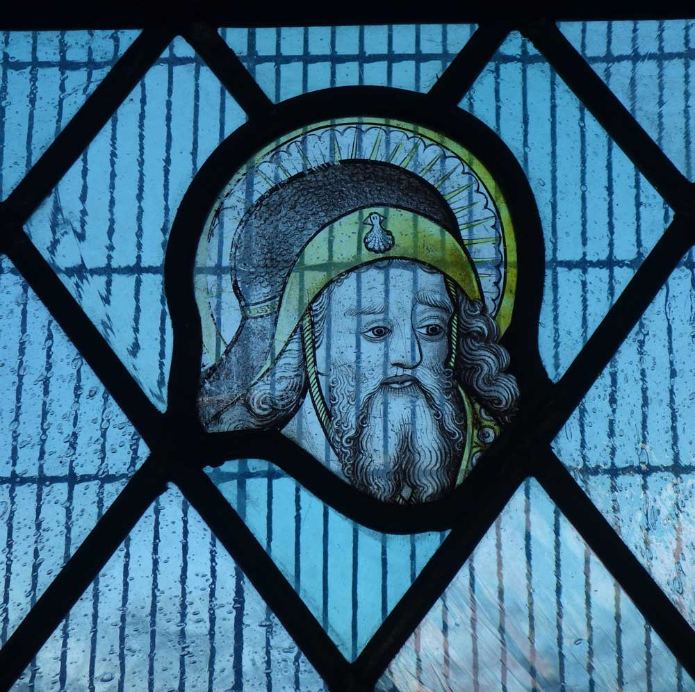 Stained glass from St James Pockthorpe