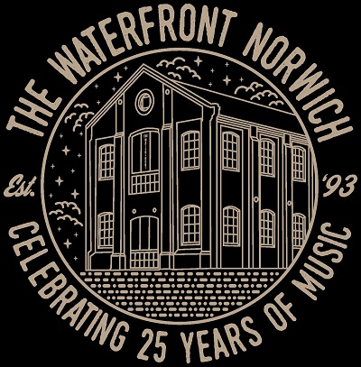 the waterfront norwich logo