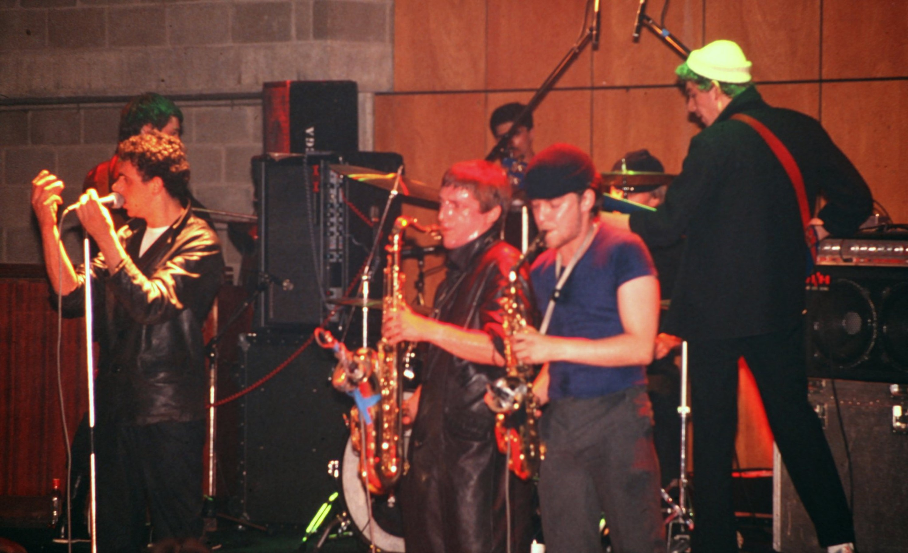 Dexys Midnight Runners at uea in 1980