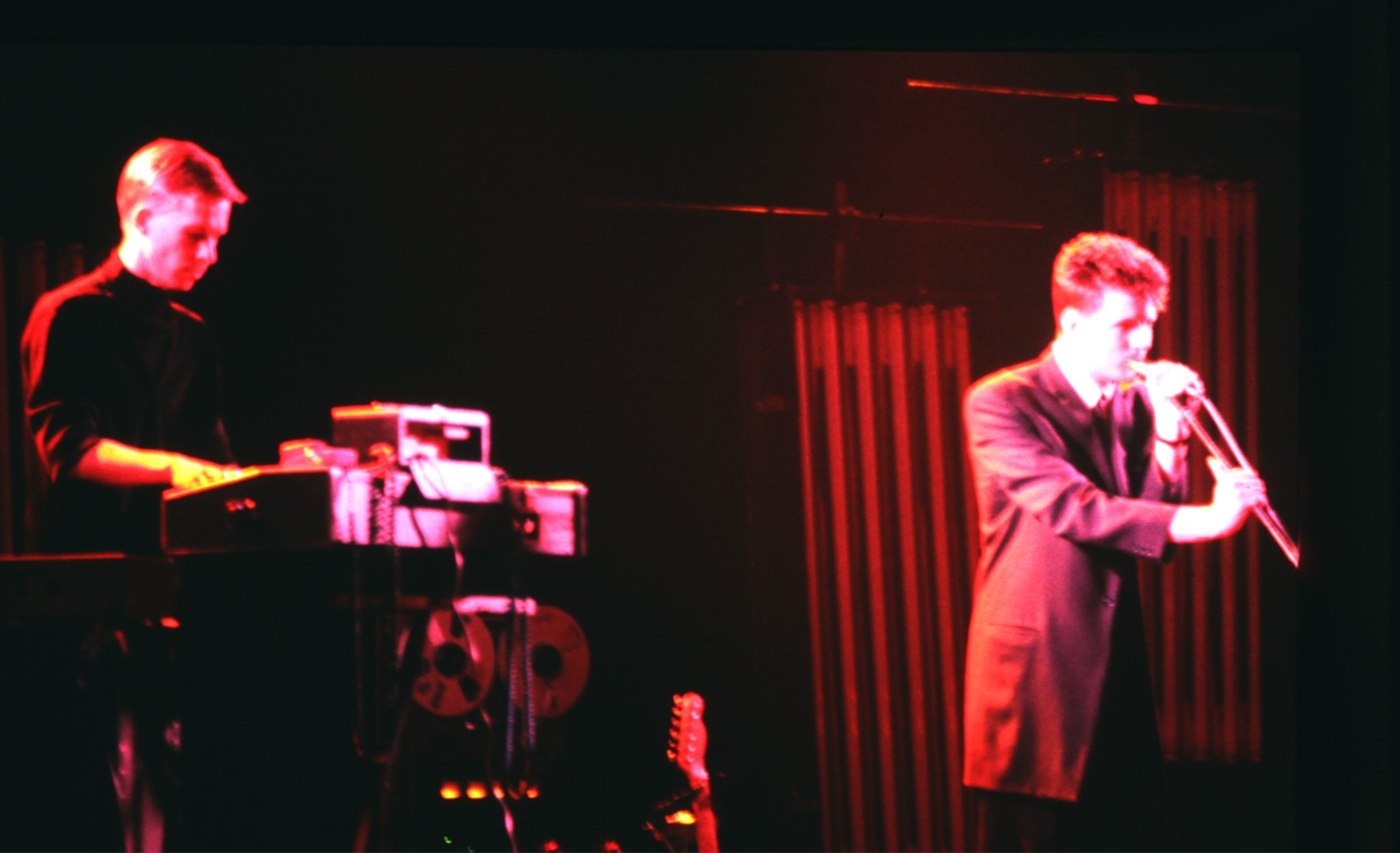 Blancmange playing uea in 1982