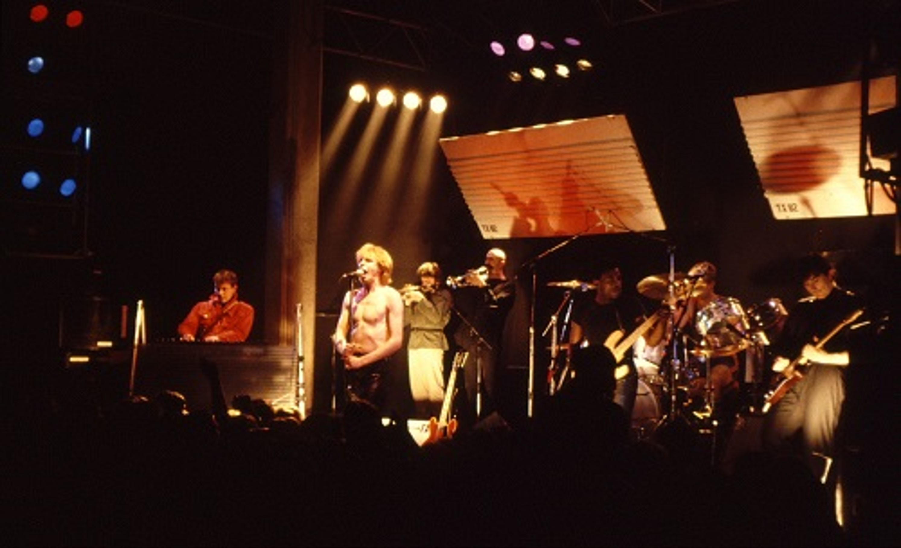 Teardrop explodes at uea in 1981