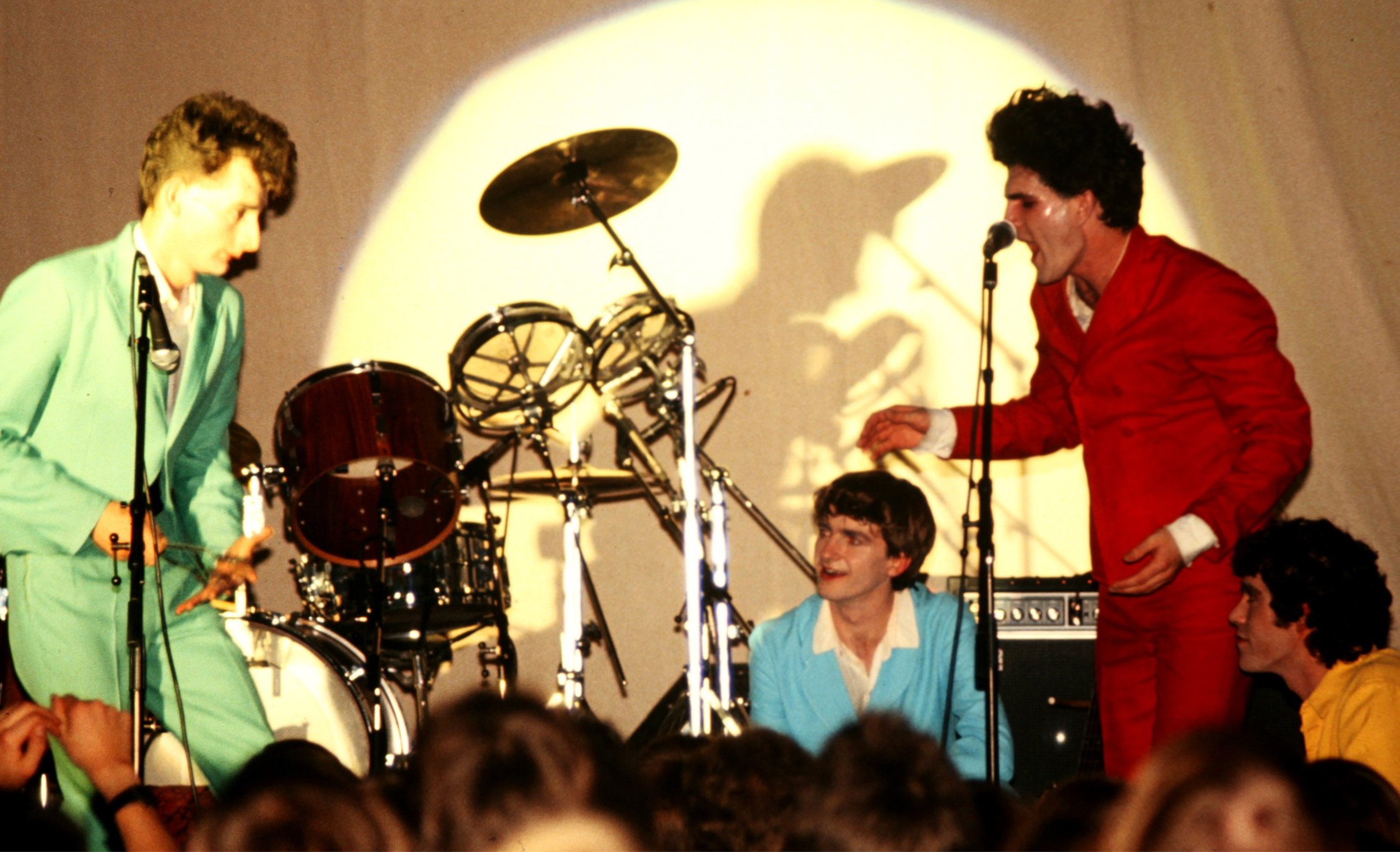 Split Enz at uea in 1980