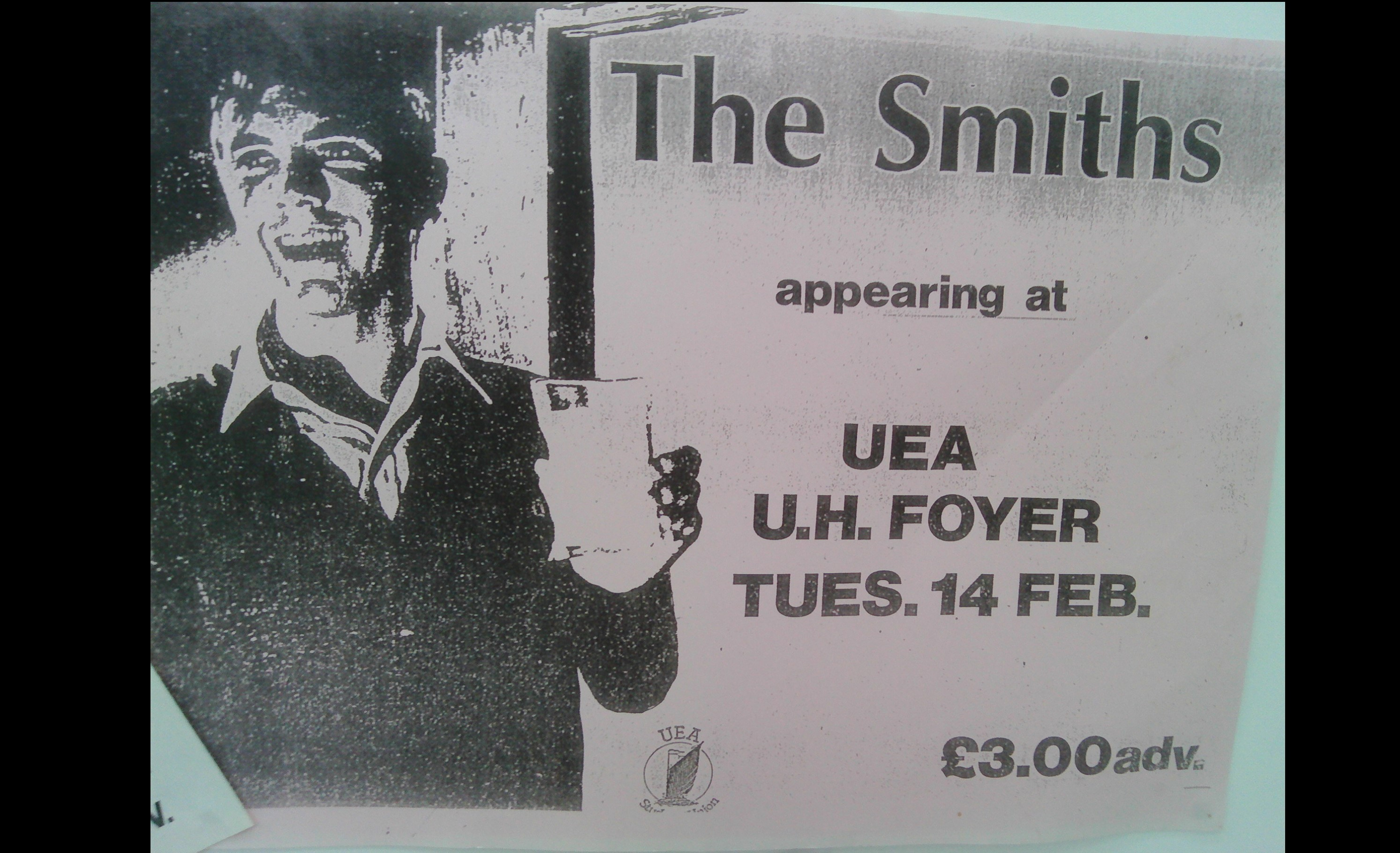 Smiths poster from 1984
