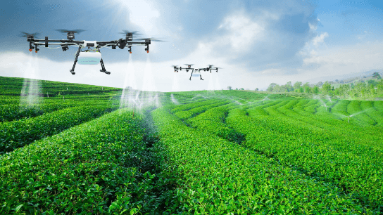 Drone operated agriculture