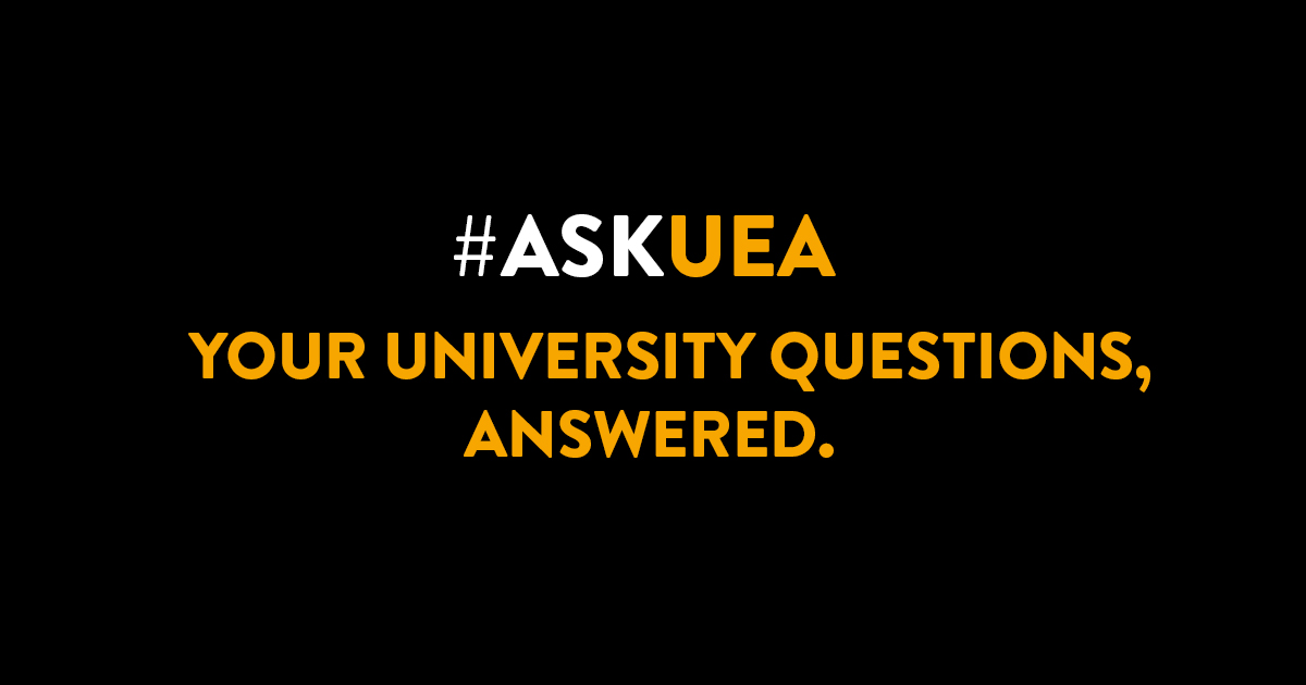 AskUEA: Your university questions, answered - Logo